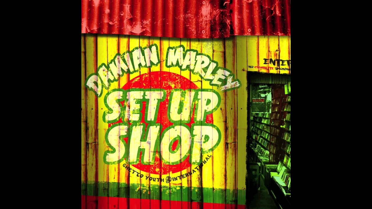 "Damian ""Jr. Gong"" Marley - Set Up Shop (Audio)"